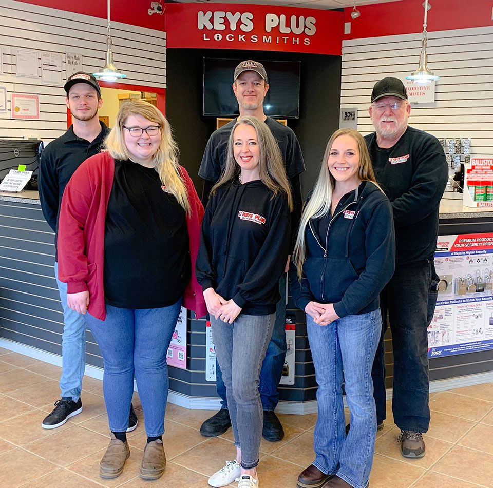 Keys Plus Locksmith Professionals Team